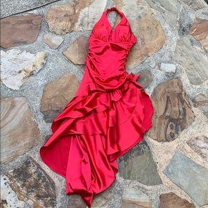Prom or even red dress Blondie Nites